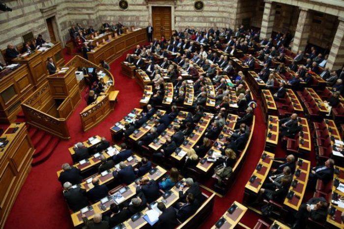 Ο πρωθυπουργός Αλέξης Τσίπρας ανοίγει τη συζήτηση στην Ολομέλεια της Βουλής επί της παροχής ψήφου εμπιστοσύνης στην Κυβέρνηση, Αθήνα Τρίτη 15 Ιανουαρίου 2019. Η συζήτηση θα ολοκληρωθεί με ονομαστική ψηφοφορία το βράδυ της Τετάρτης.  ΑΠΕ-ΜΠΕ/ΑΠΕ-ΜΠΕ/ΟΡΕΣΤΗΣ ΠΑΝΑΓΙΩΤΟΥ
